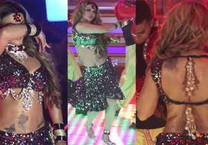 Rakhi Sawant dances on Chappan Churi item song; Watch Video