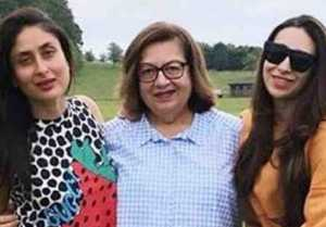 Kareena Kapoor & Karishma Kapoor spend quality time with mom Babita in London; Check out