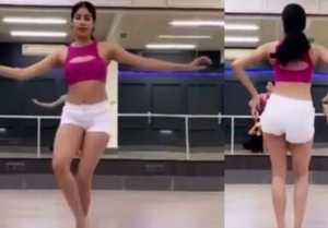 Jhanvi Kapoor's fans make fun of her Belly Dance; Here's why