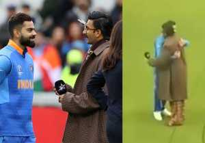 Ranveer Singh HUGS Virat Kohli after India Vs Pakistan match; Check Out