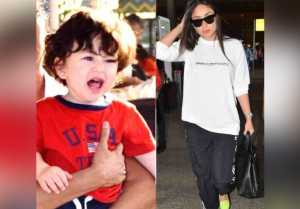 Kareena Kapoor Khan leaves Taimur Ali Khan in London with Saif Ali Khan; Here's why