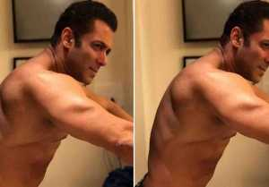Salman Khan flaunts her hot body in shirtless photo after Bharat release; Check out