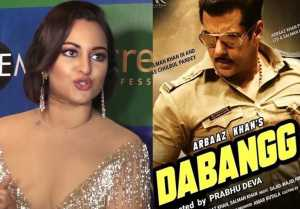 Sonakshi Sinha breaks silence on love triangle in Salman Khan's Dabangg 3; Watch video