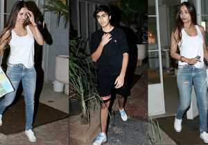 Malaika Arora spotted at dinner with son Arhaan Khan; Check Out