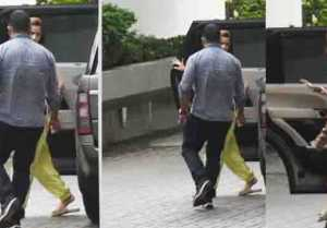 Alia Bhatt hides her face outside Ranbir Kapoor' s house; Check Out