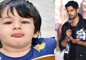 Sidharth Malhotra wants to kidnap Taimur Ali Khan
