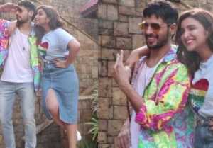 Sidharth Malhotra & Parineeti Chopra promote Jabariya Jodi; Watch Video