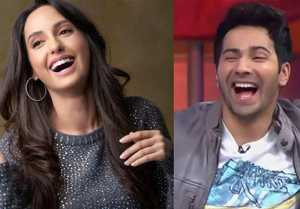 Nora Fatehi challenges Varun Dhawan to do O Saki Saki step