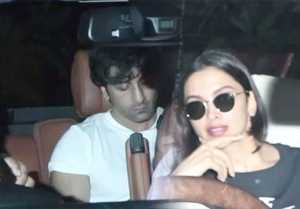 Deepika Padukone & Ranbir Kapoor spotted at Luv Ranjan's residence for film?