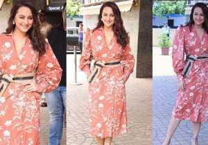 Sonakshi Sinha looks beautiful at Khandaani Shafakhana trailer launch; Watch Video