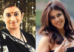Ekta Kapoor's Epic reply on Smriti Irani's Face App Challenge photo from Kyunki Saas Bhi