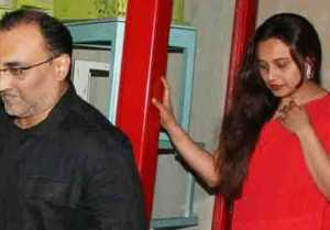 Rani Mukherjee & Aditya Chopra leave Yash Chopra's home; Here's why