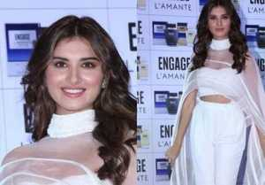 Tara Sutaria looks beautiful in white dress; Watch Video