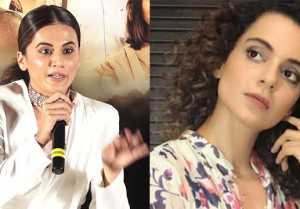 Taapsee Pannu reacts on Kangana Ranaut's sister Rangoli's sasti copy remark
