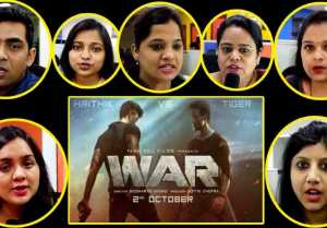 WAR Teaser Reaction: Hrithik Roshan | Tiger Shroff | Vaani Kapoor