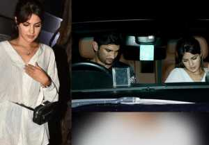 Sushant Singh Rajput & Rhea Chakraborty Spotted on a dinner date; Check Out