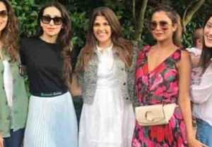 Karishma Kapoor enjoys lovely weekend with Girls gang; Check out here