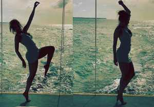 Malaika Arora has shares pictures from her Maldives vacation on Instagram