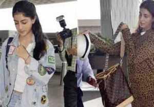 Shweta Bachchan & Navya Naveli Nanda leave for holiday