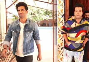 Sushant Singh Rajput & Varun Sharma promote Chhichhore;Watch video