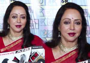 Hema Malini launches her music video on Janmashtami; Watch video