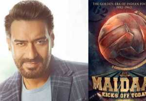 Ajay Devgn starrer biopic Maidaan first poster gets revealed