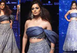 Lakme Fashion Week: Kangana Ranaut sets the fire on ramp; Watch Video