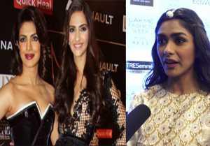 Mrunal Thakur follows Priyanka Chopra & Sonam Kapoor; Watch video