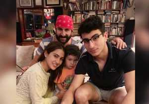 Sara Ali Khan wishes Saif Ali Khan on his birthday with a cute throwback photo