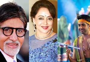 Hema Malini, Amitabh Bachchan & others wishes Janmashtami; Watch