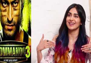 Adah Sharma talks about her upcoming film Commando 3,Watch video