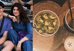 Twinkle Khanna shares pictures of a meal cooked by her son Aarav