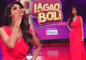 Shilpa Shetty shoots for her upcoming show Boli Lagao;Watch video