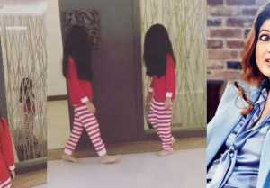 Twinkle Khanna recreates a horror scene with daughter Nitara;Watch Video