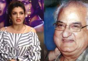 Raveena Tandon reveals big secret of her father Ravi Tandon