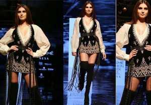 Tara Sutaria looks stunning in Boho look at Lakme Fashion Week; Watch video