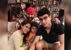 Sara Ali Khan wishes Saif Ali Khan on his birthday with a cute throwback photo