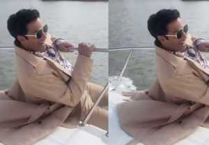 Varun Dhawan performs stunt on speed boat in Bangkok;Watch video