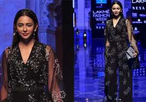 Rakul Preet Singh looks classy on ramp at Lakme Fashion Week 2019; Watch video