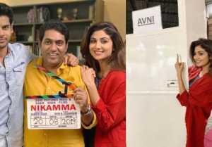 Shilpa Shetty start shooting for comeback film Nikamma; Check Out Here
