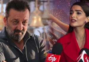 Sanjay Dutt's Prassthanam gets this hilarious reaction from Sonam Kapoor;Watch video