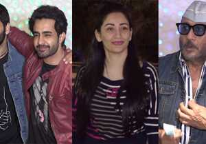 Sanjay Dutt's wife Manyata Dutt hosts Prasthanam GRAND Screening