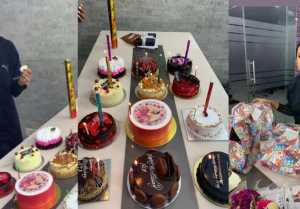 Nia Sharma enjoys her Pre Birthday Bash on Jamai 2.0 set,Check out