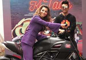 Urvashi Rautela looks stunning at new album Bijli Ki Taar song launch;Watch video