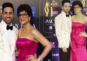 Ayushmann Khurrana & Tahira Kashyap look perfect together at IFFA 2019; Watch  video