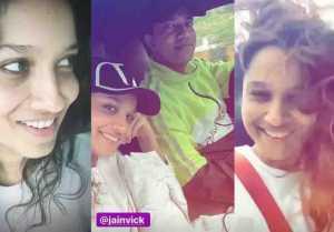 Ankita Lokhande enjoys romantic long drive with boyfriend Vicky Jain