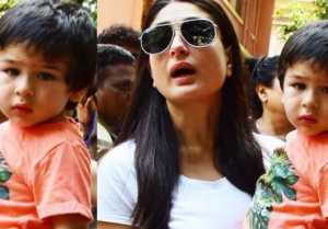 Kareena Kapoor Khan takes this strict dissension for Taimur Ali Khan