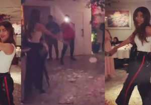 Shilpa Shetty breaks plates while dancing in party; Watch video