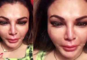Rakhi Sawant cries for NRI husband Ritesh,Here's why