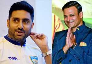 Abhishek Bachchan receives sweet message from Vivek Oberoi after Big Bull poster